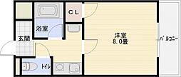 ファーストマンション[2階]の間取り