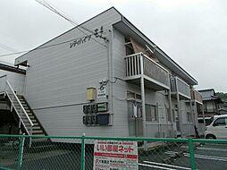 広島県府中市広谷町の賃貸アパートの外観