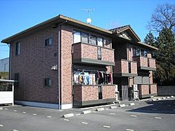 群馬県伊勢崎市田中島町の賃貸アパートの外観
