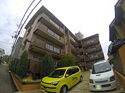兵庫県宝塚市山本西3丁目の賃貸マンションの外観