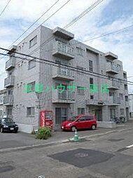 北海道札幌市東区北二十二条東2丁目の賃貸マンションの外観