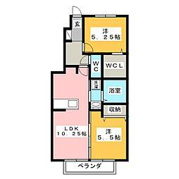 ヴィラ宿跡[1階]の間取り