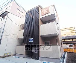 京都府京都市右京区西院西今田町の賃貸アパートの外観