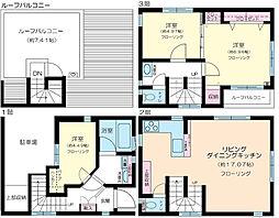 [一戸建] 東京都品川区西品川2丁目 の賃貸【/】の間取り