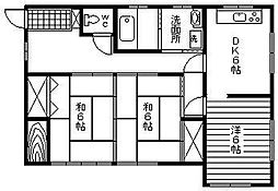 土井アパート[101号室]の間取り