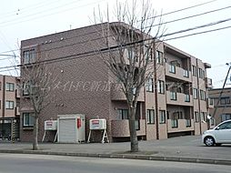 北海道札幌市北区あいの里三条8の賃貸マンションの外観