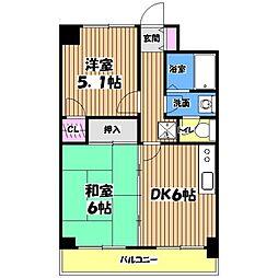 プライムアーバン武蔵野ヒルズA棟[2階]の間取り