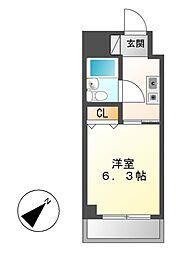 第30プロスパー泉[6階]の間取り
