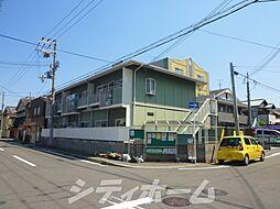 大阪府大阪市住吉区清水丘1丁目の賃貸アパートの外観