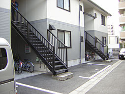 ハイツ桝本B[201号室]の外観