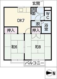 エトワール浅草A棟[2階]の間取り