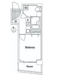 東京メトロ有楽町線 護国寺駅 徒歩5分の賃貸マンション 1階1Kの間取り