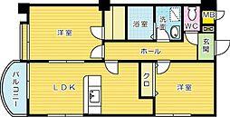 HIT SUNATSU B.L.D(ヒット砂津ビル)[7階]の間取り