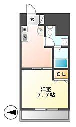 T's Dream名駅(ティーズドリーム)[9階]の間取り