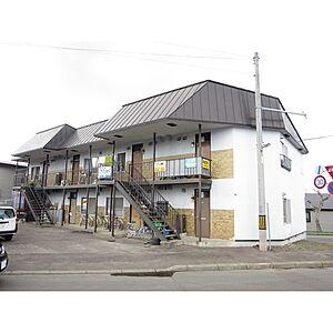 外観,2DK,面積43.74m2,賃料3.3万円,JR石北本線 北見駅 徒歩20分,,北海道北見市青葉町