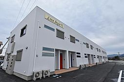 徳島県徳島市国府町池尻の賃貸アパートの外観