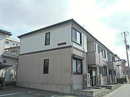 新潟県新潟市東区上木戸5丁目の賃貸アパートの外観