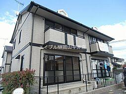 岡山県岡山市中区東川原の賃貸アパートの外観
