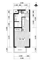 広尾レジデンスA棟[3階]の外観