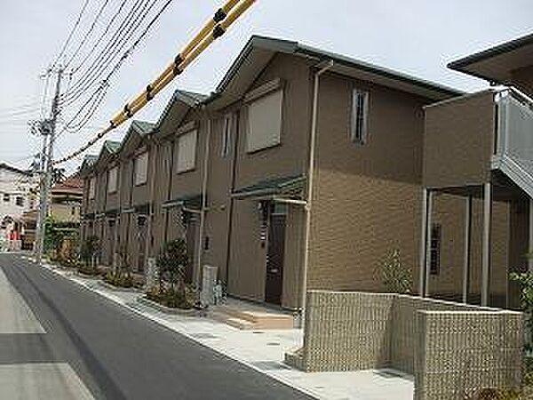 兵庫県西宮市堤町1-43(1-5) 41(ABC) 36(DEの賃貸アパートの外観