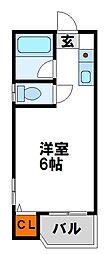 ドリーム石坂[2階]の間取り