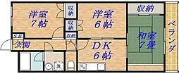 グレイスガーデン新森2号館[4階]の間取り
