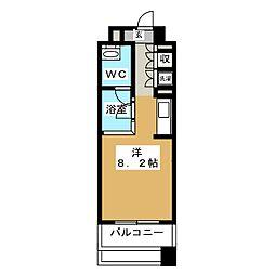 アーク白川公園パークマンション[2階]の間取り