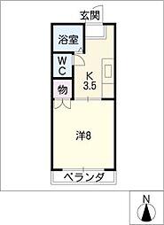 OZ.BLD[4階]の間取り