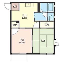 オークツリーハウス[1階]の間取り