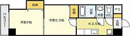 中津口センタービル[2階]の間取り