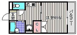 アットハウスMATSUTANI III[2階]の間取り