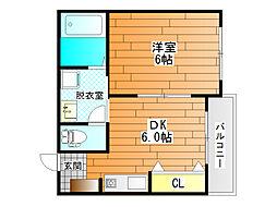 シグマ[2階]の間取り
