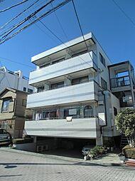 東京都足立区関原2の賃貸マンションの外観