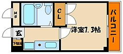 ルミエール明石[6階]の間取り
