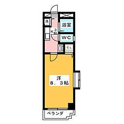 STUDIO NANBU(スタジオナンブ)[6階]の間取り