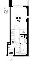 M.J.プレイス目黒[3階]の間取り