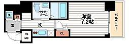 ステージグランデ堺筋本町[10階]の間取り