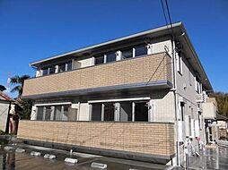 神奈川県横浜市青葉区あかね台1丁目の賃貸アパートの外観