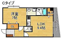 FORESTAIII[6階]の間取り
