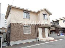 岡山県岡山市北区大供本町の賃貸アパートの外観