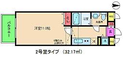 セレブコート梅田[7階]の間取り