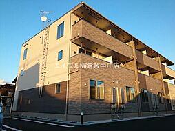 岡山県倉敷市青江丁目なしの賃貸アパートの外観