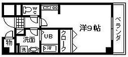 大阪府岸和田市土生町の賃貸マンションの間取り