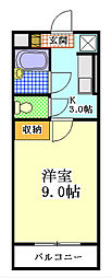 GRAN・SHARIO[305号室]の間取り