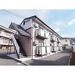 長野県松本市並柳2の賃貸アパートの外観