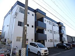 愛知県あま市本郷郷前の賃貸マンションの外観