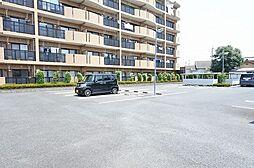 群馬県伊勢崎市八坂町の賃貸マンションの外観