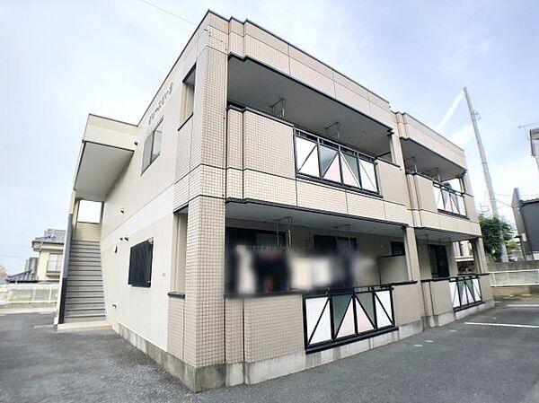 神奈川県伊勢原市沼目3丁目の賃貸マンションの外観
