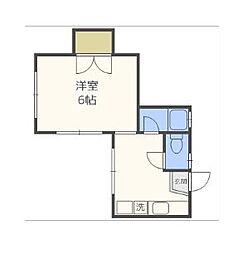 NTFビル[2階]の間取り
