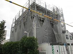 兵庫県神戸市東灘区森南町2丁目の賃貸アパートの外観